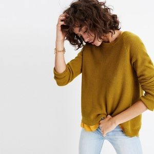 MADEWELL cross back pullover.